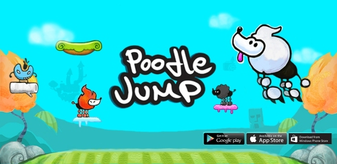 Poodle Jump - Fun Jumping Dog Game For Kids
